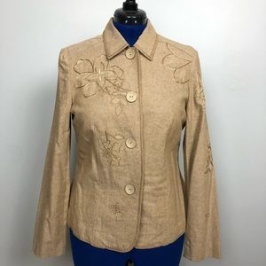 Requirements Floral Embroidery Jacket